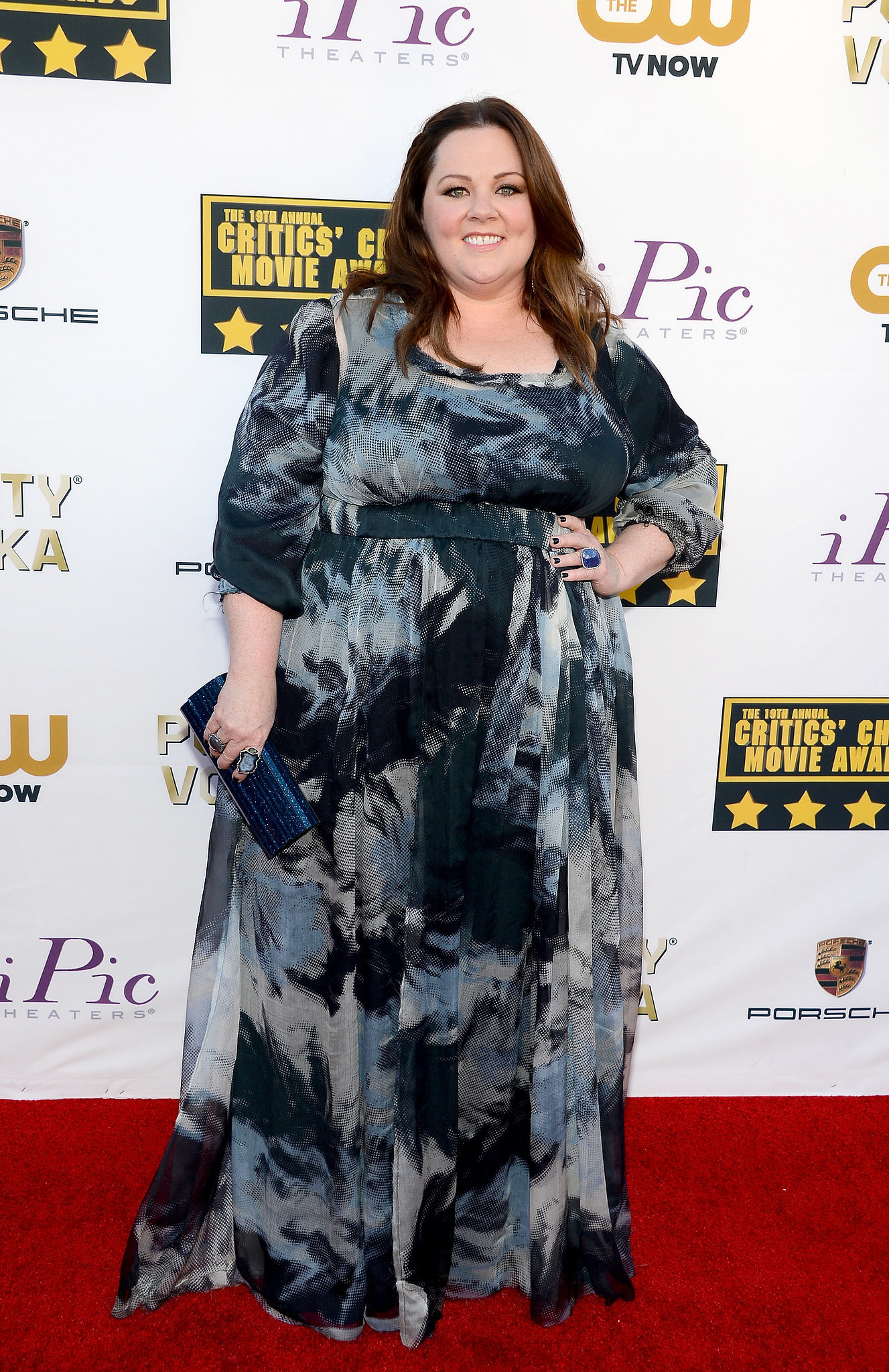Melissa McCarthy at the Critics' Choice Awards 2014