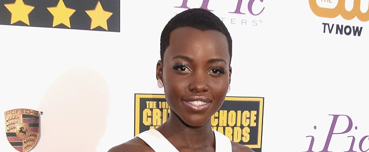 The Scoop on Lupita Nyong'o's New Widow's Peak at Critics' Choice