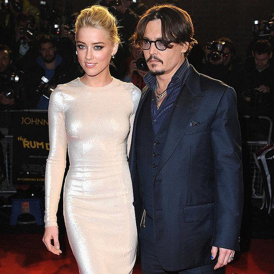 "Johnny Depp Will Officially Say ""I Do"" to Amber Heard's Sexy Style"