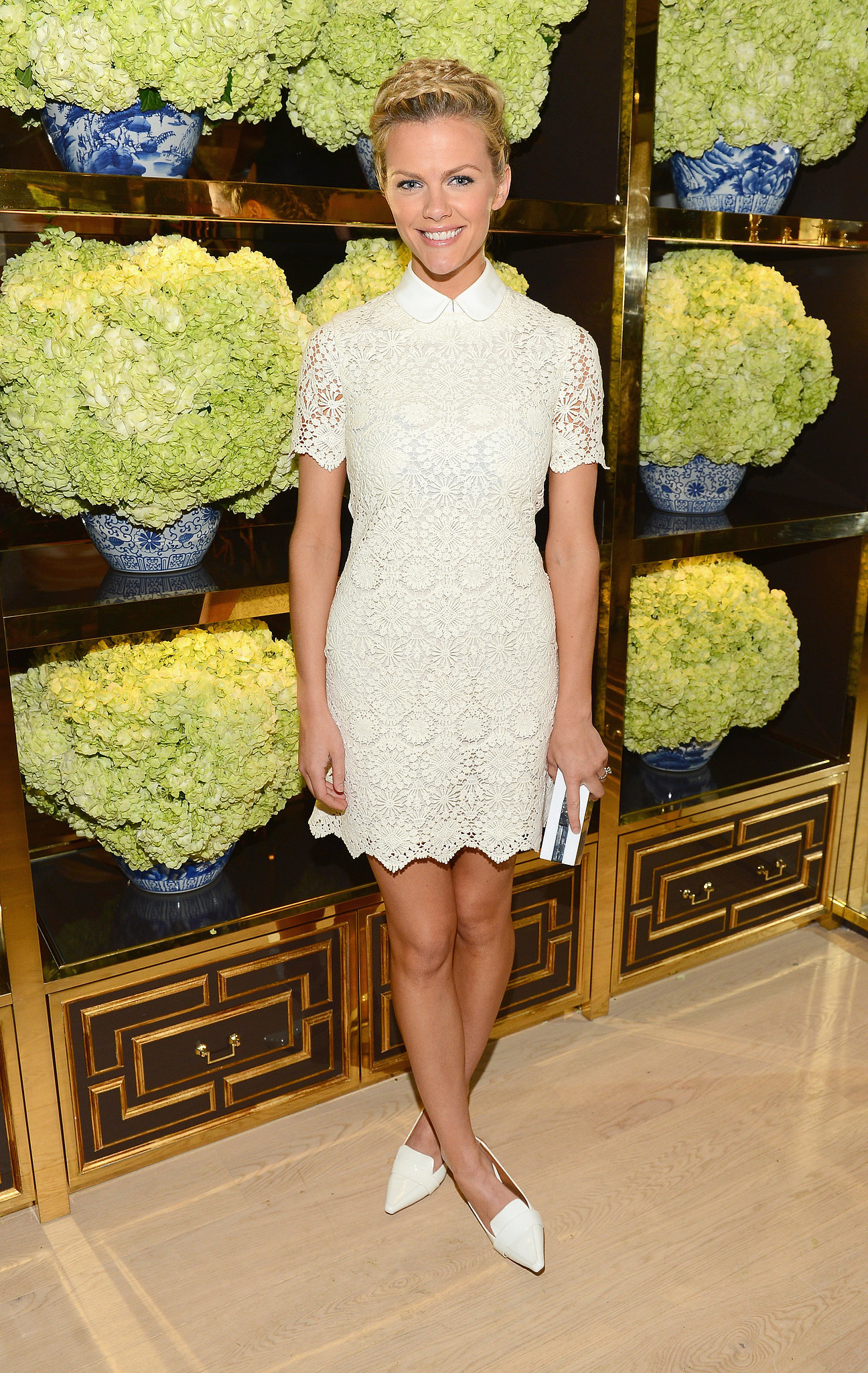 Brooklyn Decker at Tory Burch's Rodeo Drive Flagship Opening