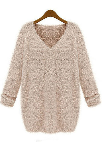Long Sleeve Mohair Sweater