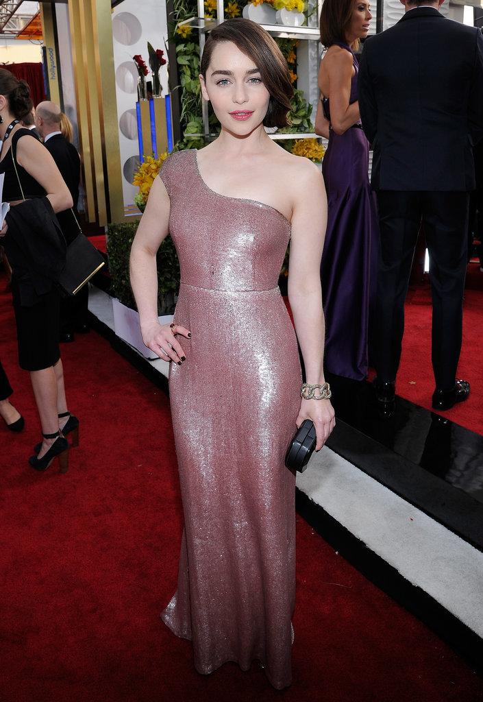 Emilia Clarke at the SAG Awards 2014