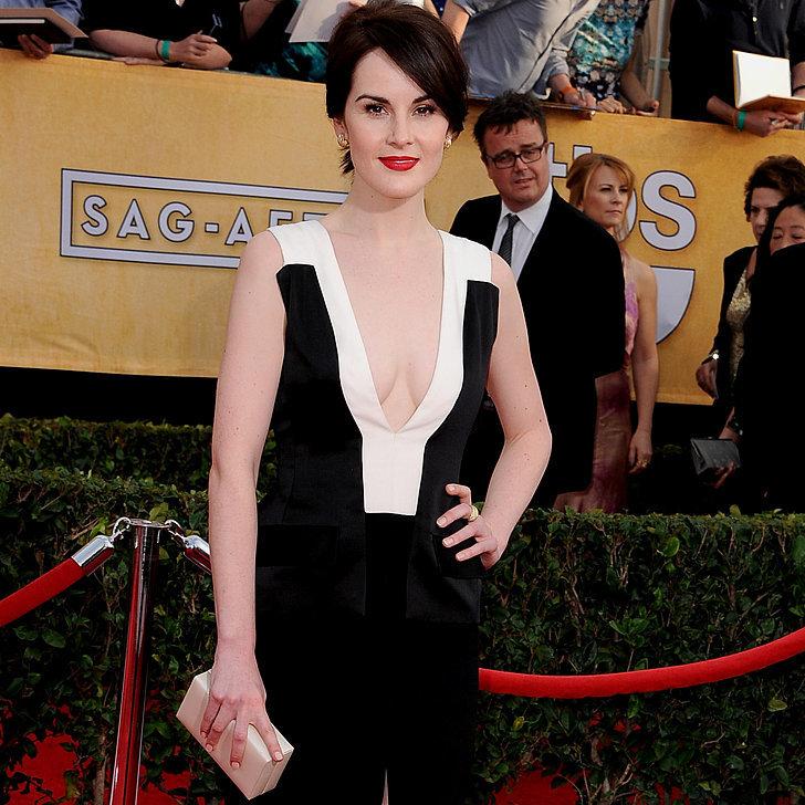 Michelle Dockery's Dress at SAG Awards 2014