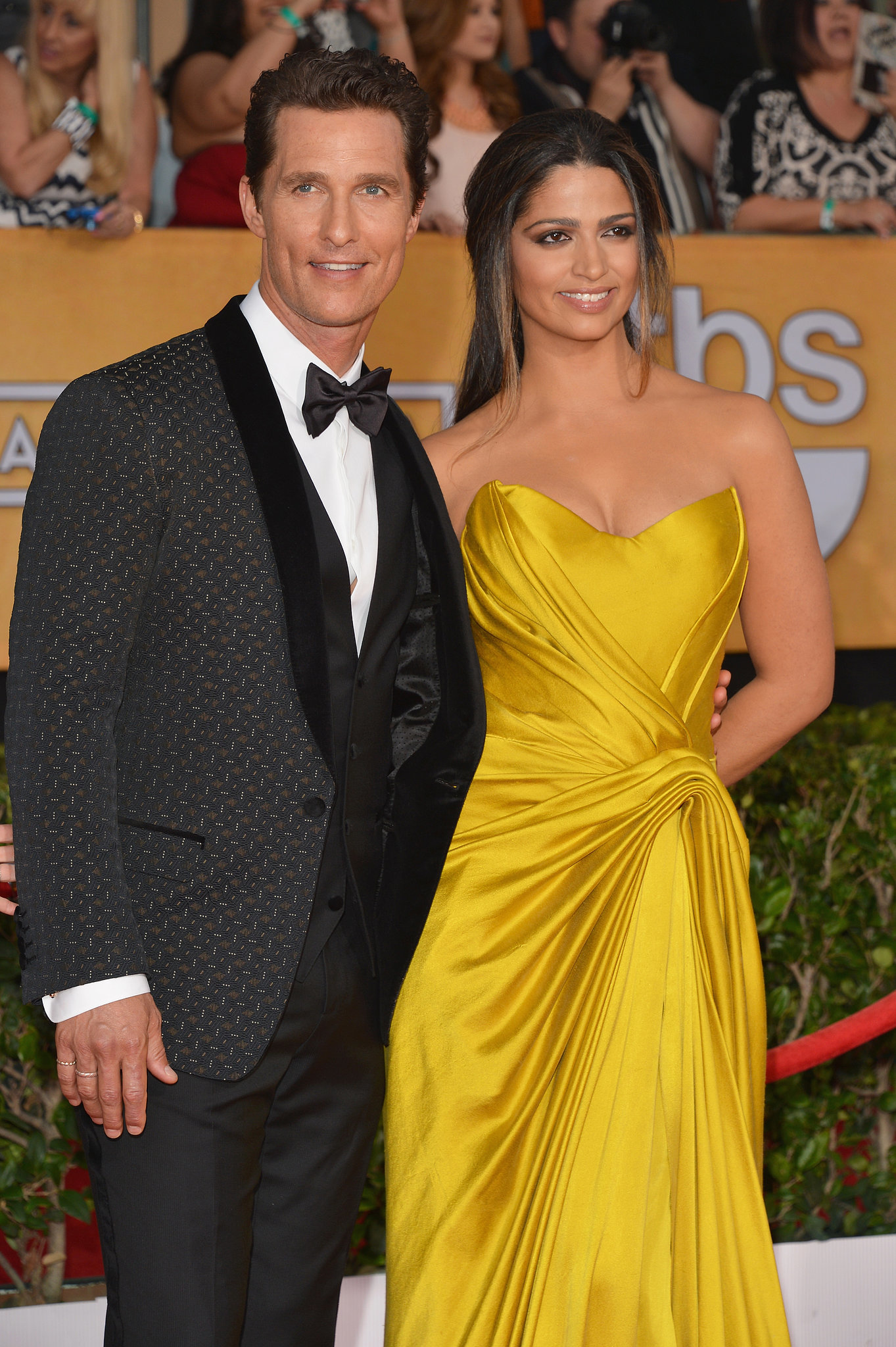 Matthew McConaughey hit the SAG Awards red carpet with his ...