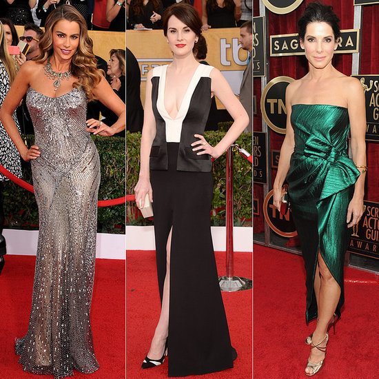 The Gang's All Here! See Every Dress on the SAG Awards Red Carpet