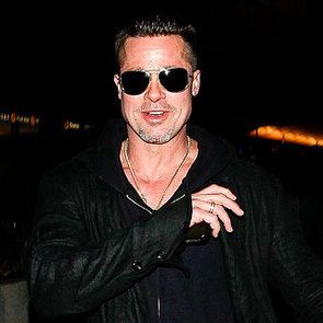 Brad Pitt Arrives at LAX | Pictures