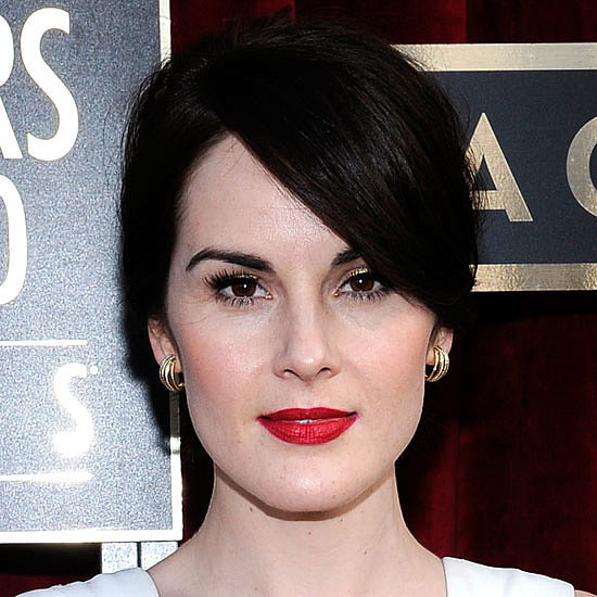 Michelle Dockery Live on the 2014 SAG Awards Red Carpet