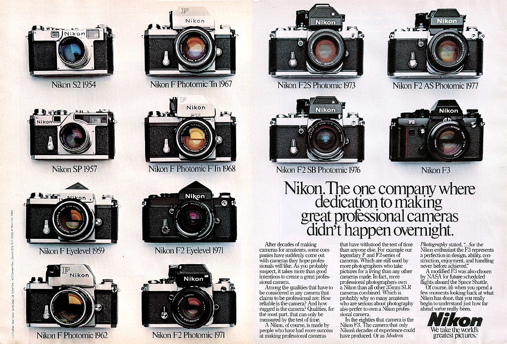 Very cool Nikon timeline.