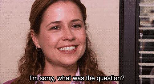 One day, when Pam's in the middle of an on-camera interview, Jim interrupts to ask her out, catching her completely off-guard. Together at last!