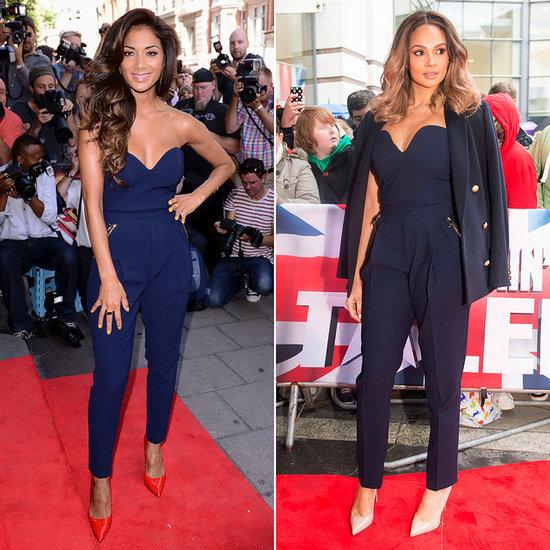 Nicole Scherzinger and Alesha Dixon Wear the Same Jumpsuit