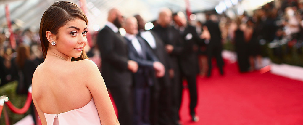 See How Sarah Hyland Got Ready For the SAG Awards!