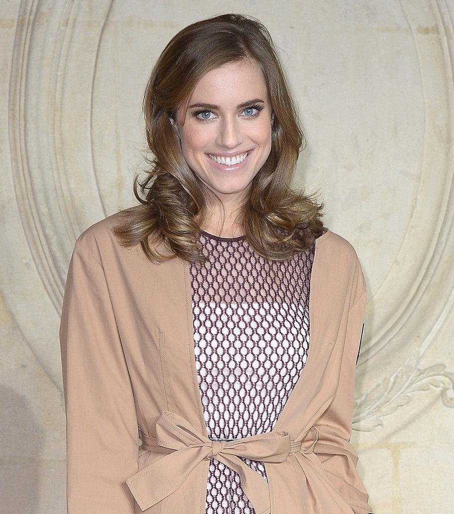 Allison Williams at Dior