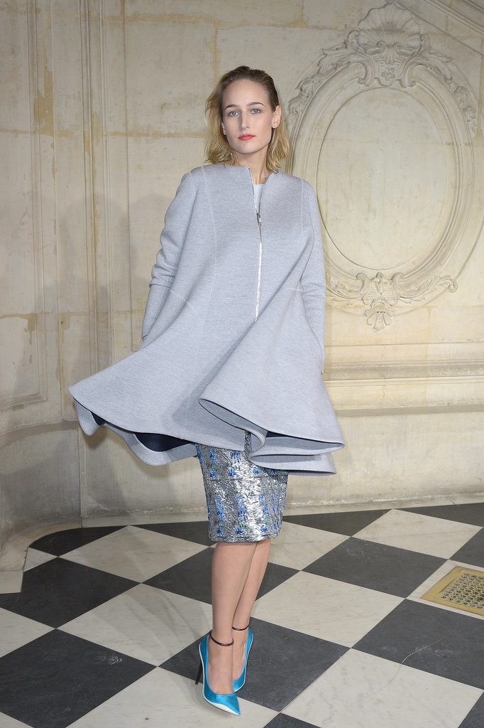 Leelee Sobieski at the Label's Haute Couture Show