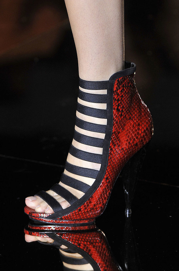 Summer Booties: Gucci Spring 2014