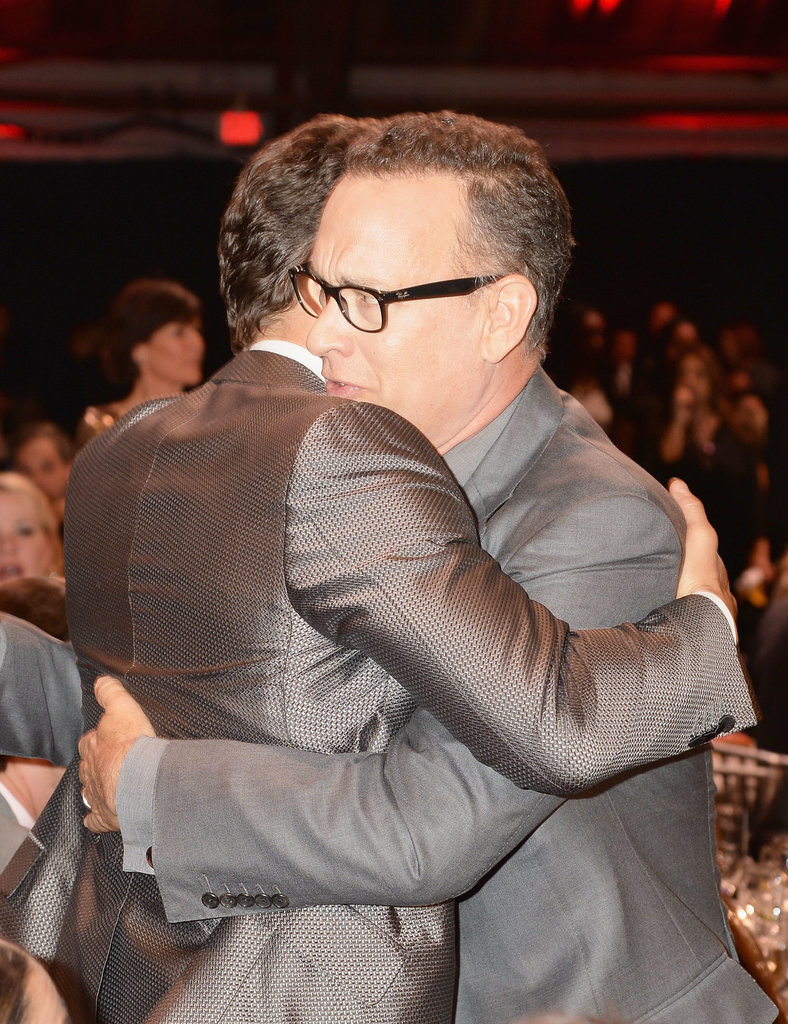 Tom Hanks and Matthew McConaughey Hugged (and Matched) at the Critics' Choice Awards