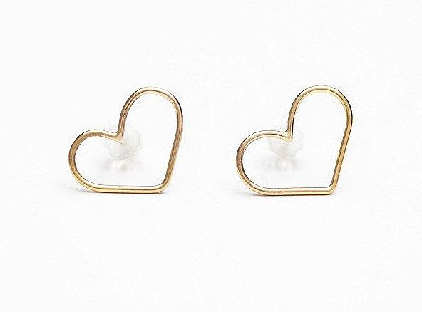 Free People Marida Heart Earrings