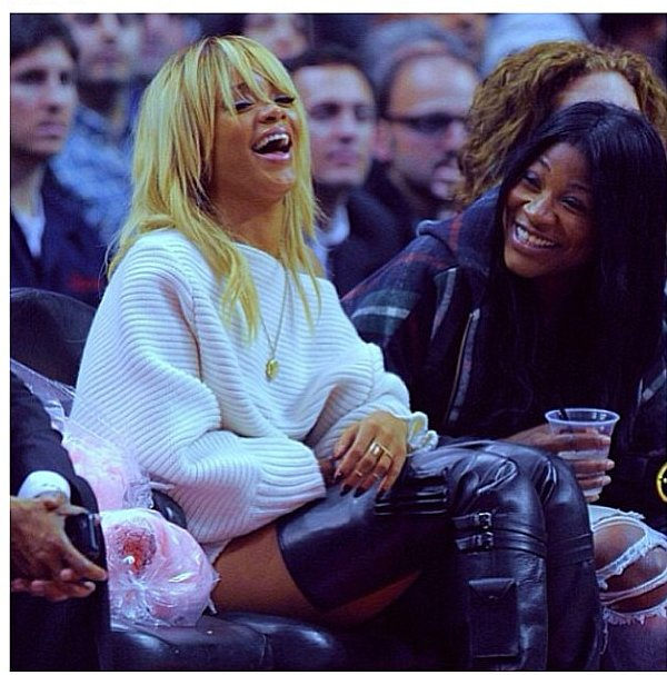 Rihanna and Ursula Stephen