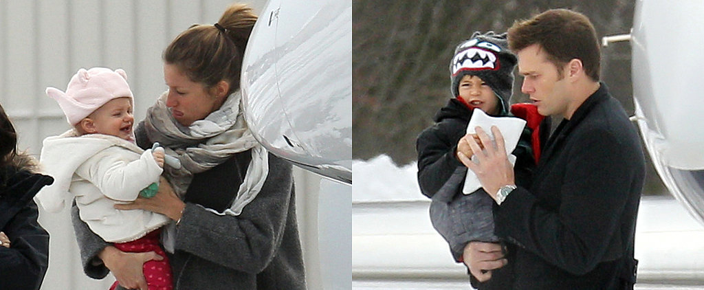 Forget the Polar Vortex — Tom and Gisele Are Jetting Out of Town