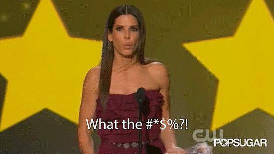 Sandra Bullock Drops the F-Bomb During Her Critics' Choice Acceptance