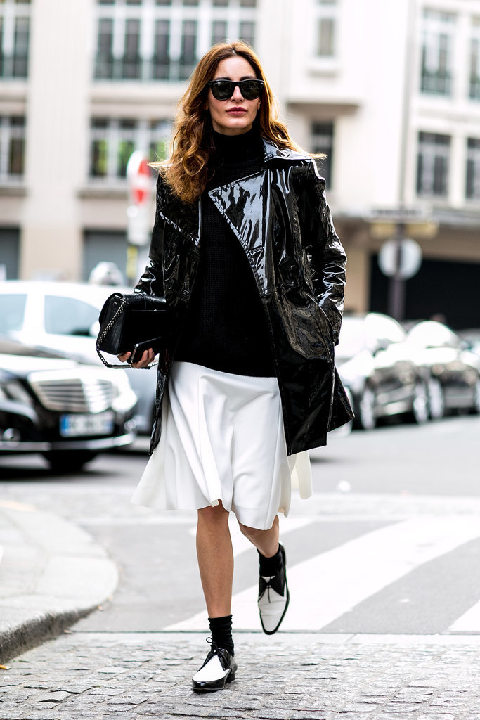 Black and white and cool all over.