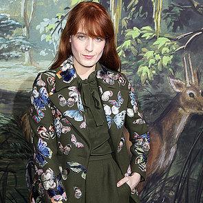 Celebrities at Paris Haute Couture Fashion Week Spring 2014