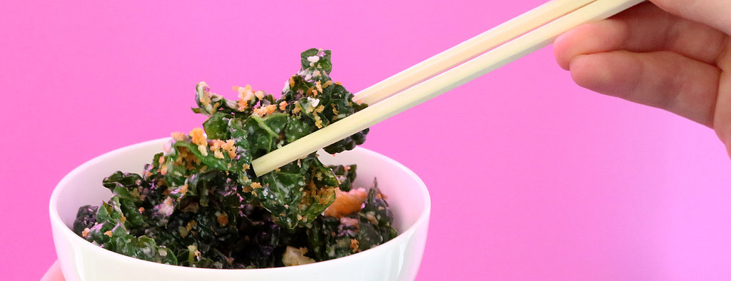 Try This Hack For a Far Easier Way to Eat Salad