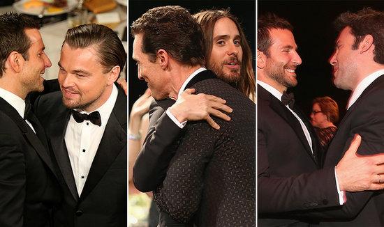 Hot Guys Hug It Out During Award Season