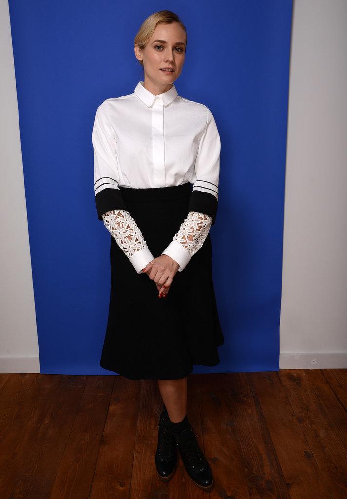 Diane Kruger at the Sundance Film Festival