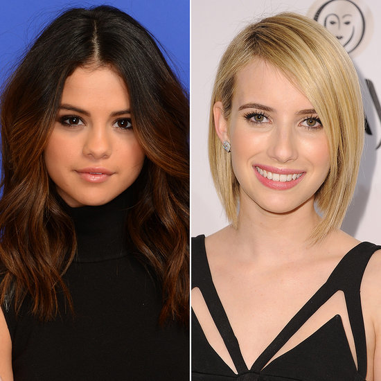 Selena Gomez and Emma Roberts Fight For Top Twitter Billing