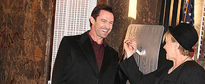 Hugh Jackman Lights the Empire State Building Green And Gold for Australia Day
