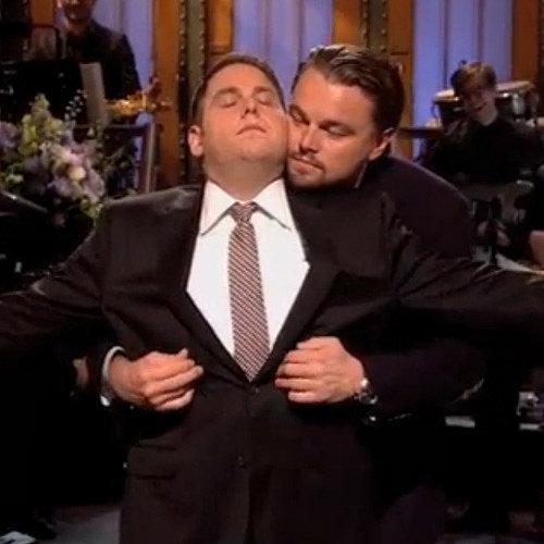 Leonardo DiCaprio and Jonah Hill Re-Create Titanic on SNL