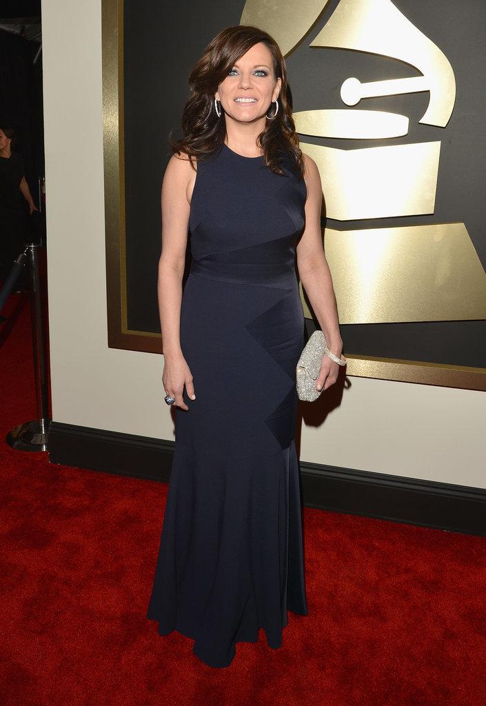 Martina McBride at the Grammys 2014