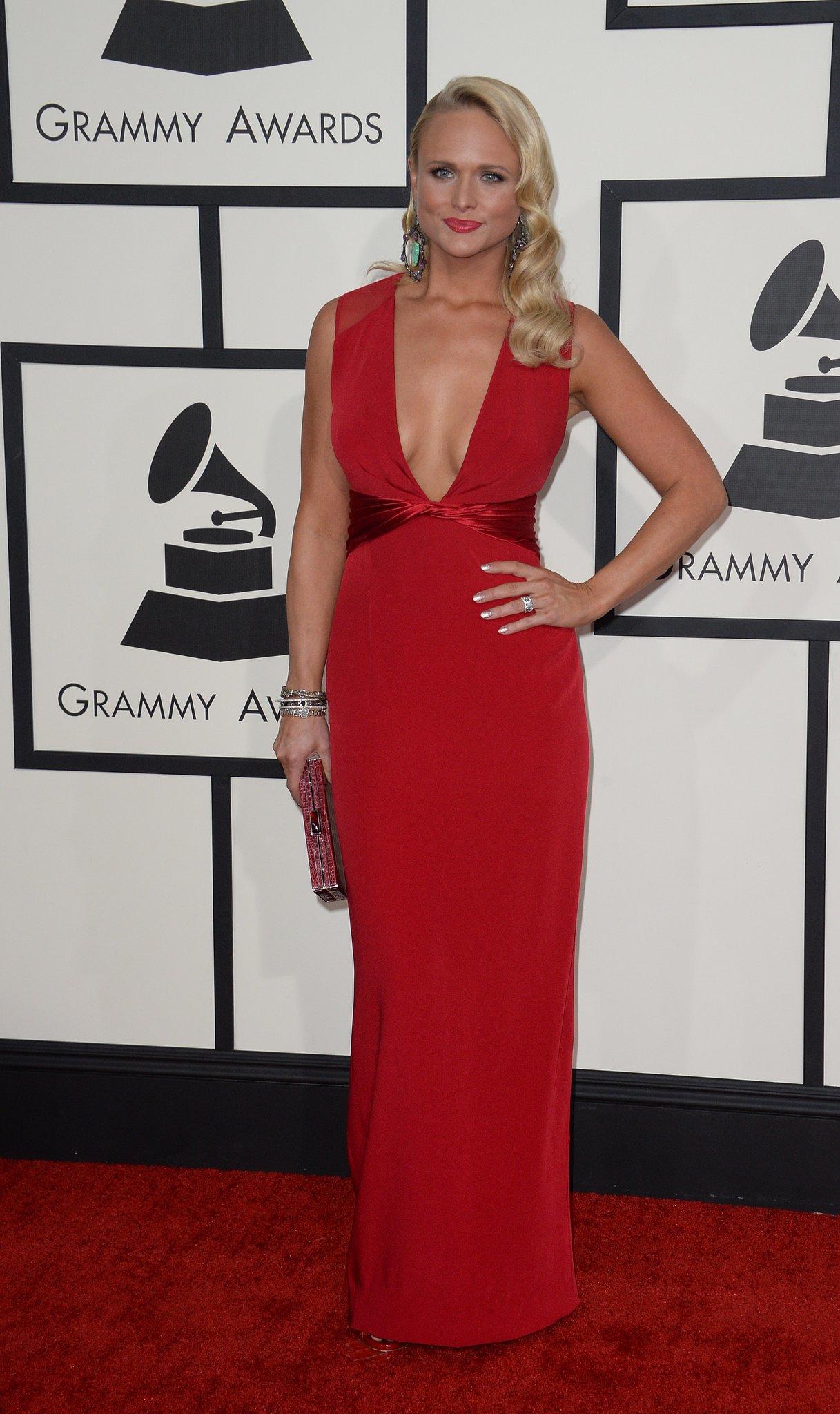 Miranda Lambert at the Grammys 2014