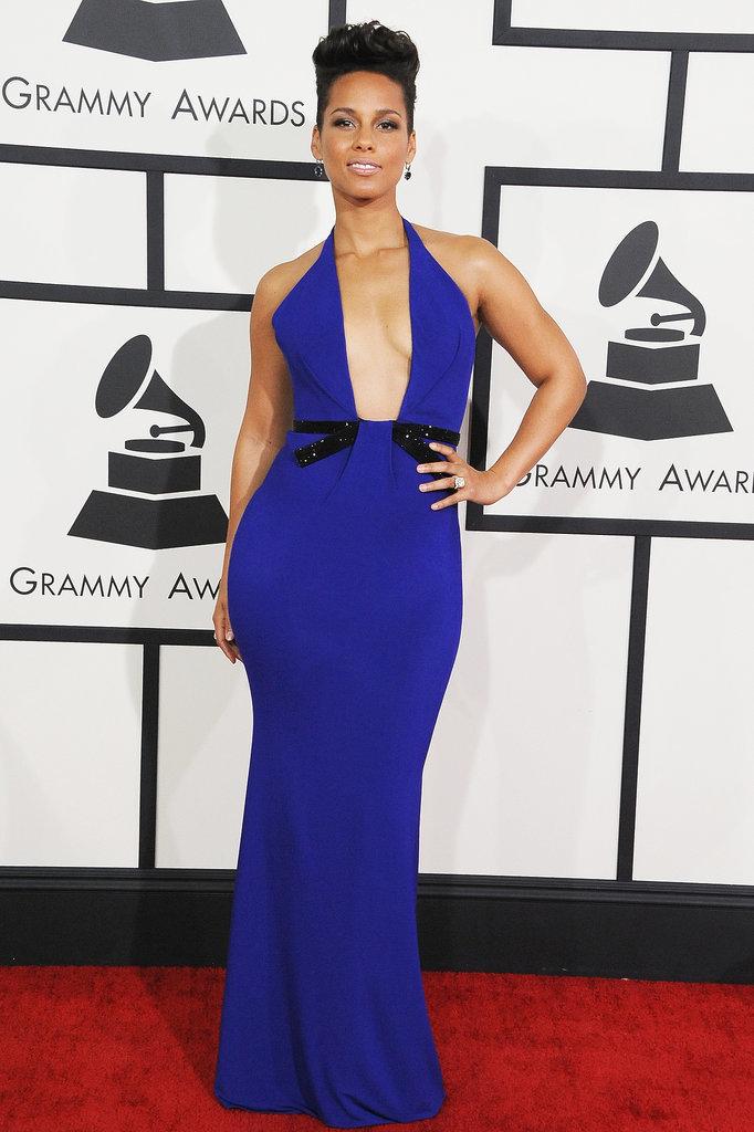Alicia Keys at the Grammys 2014