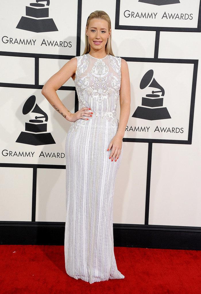 Iggy Azalea at the Grammys 2014