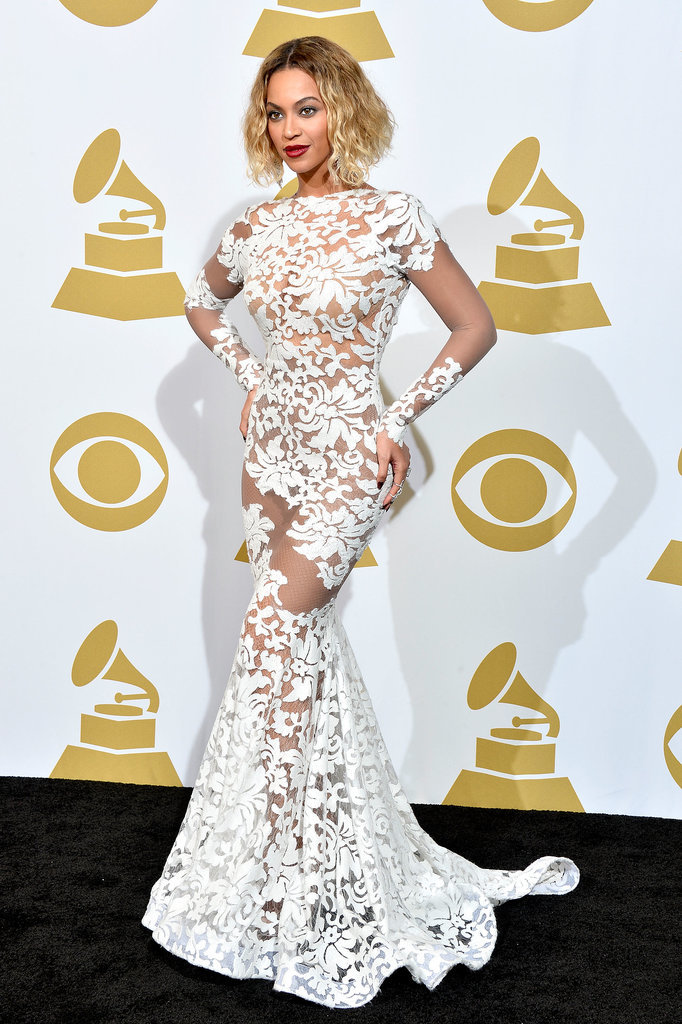 Beyoncé at the Grammys 2014