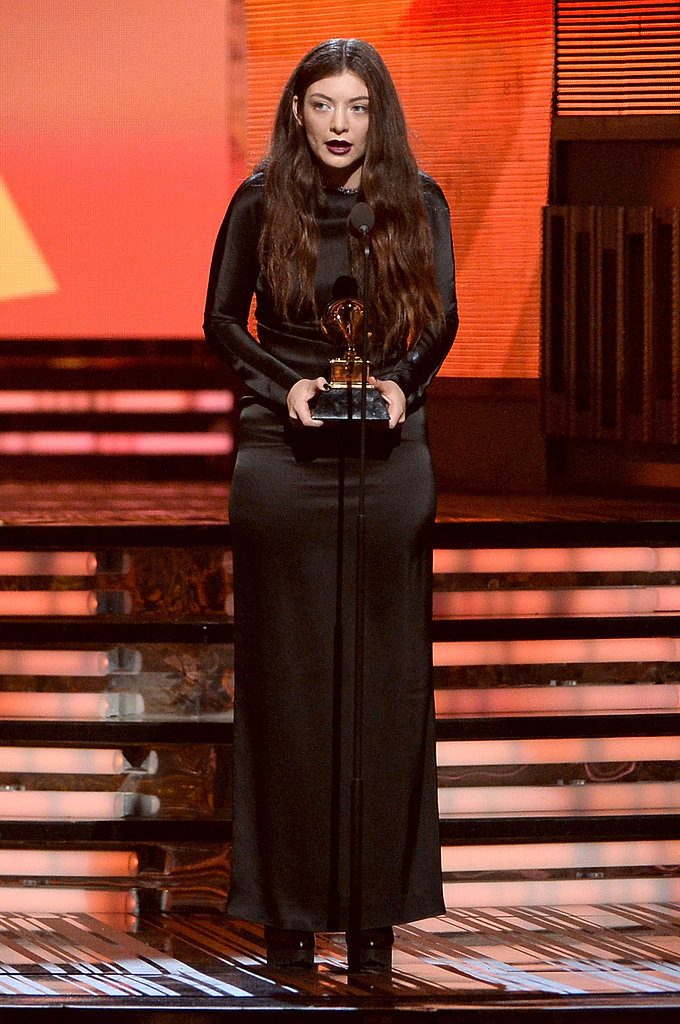 Lorde at the Grammys 2014