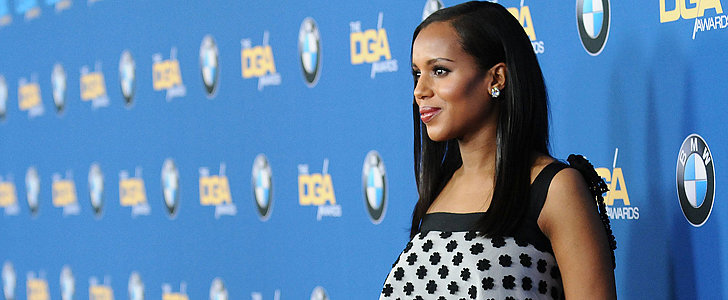 Kerry Washington Debuts Another Daring Maternity Look