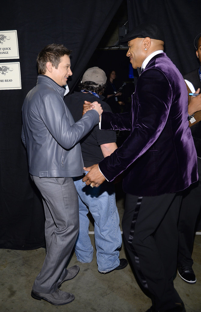 Jeremy Renner said hi to LL Cool J.