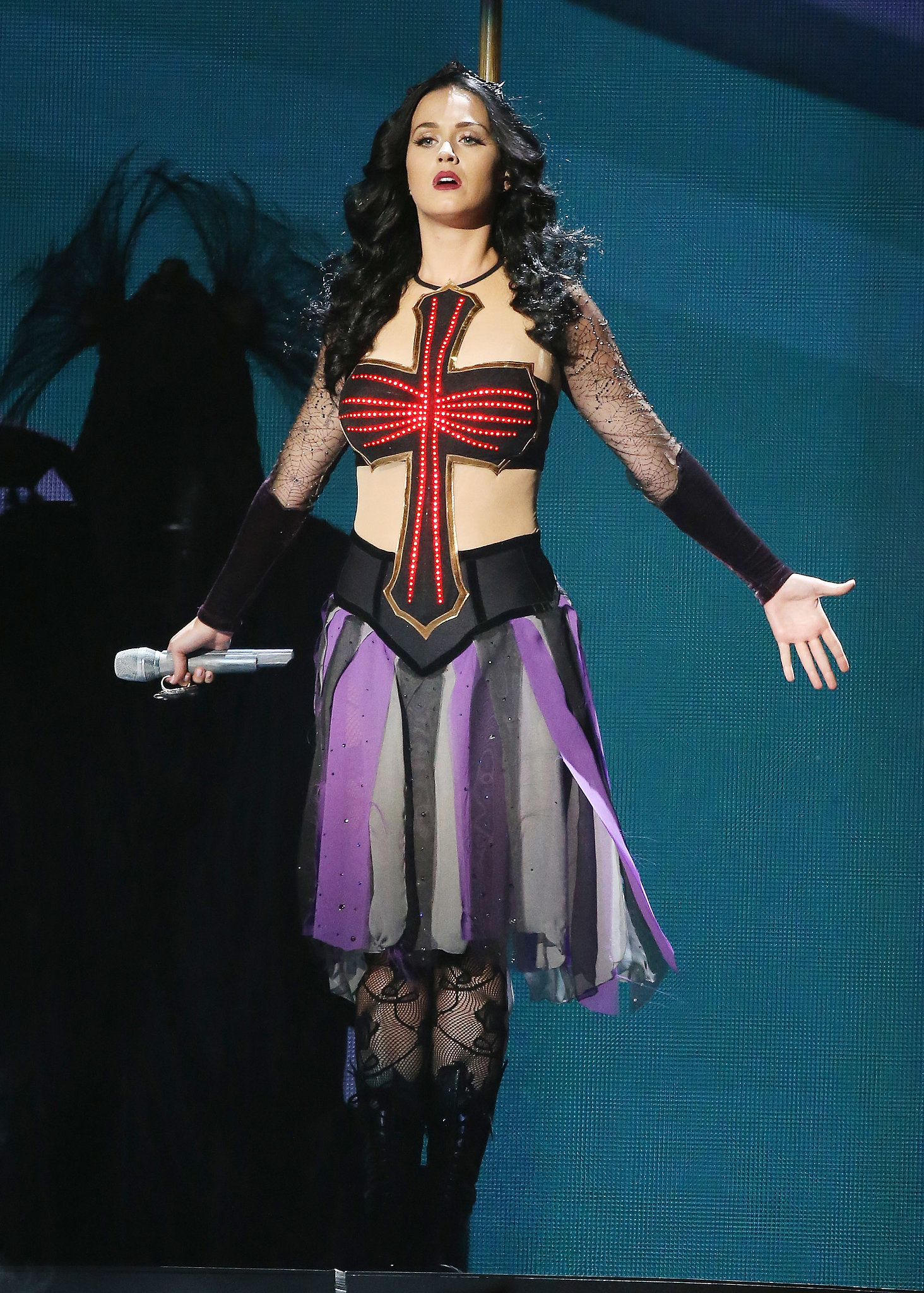 Katy Perry's Performance Look