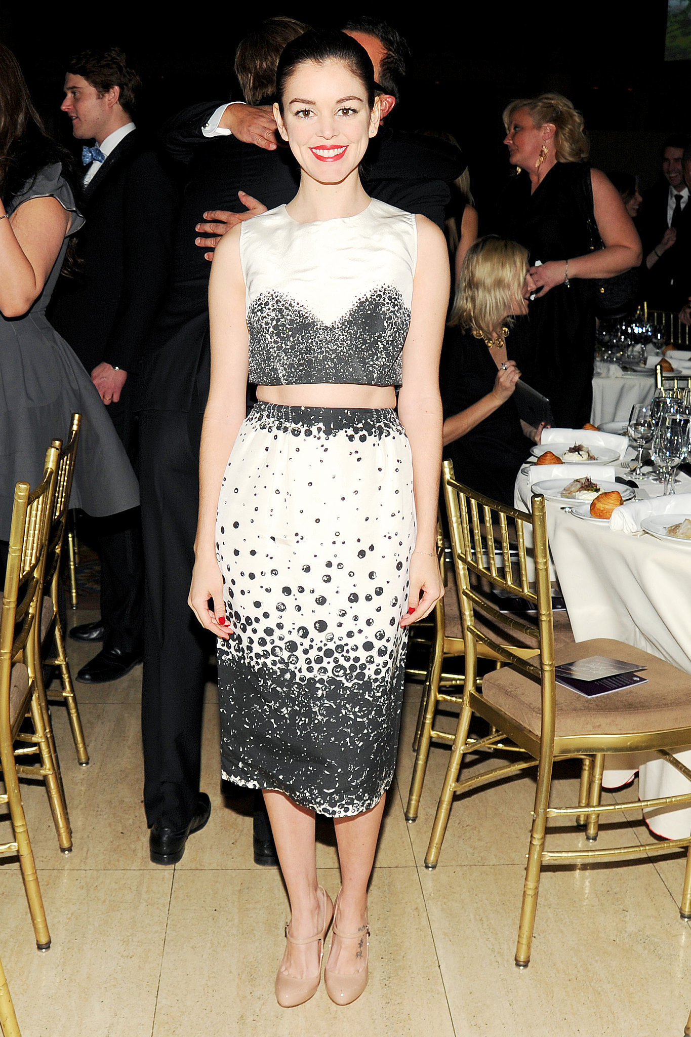 Nora Zehetner at the G'Day USA Gala.