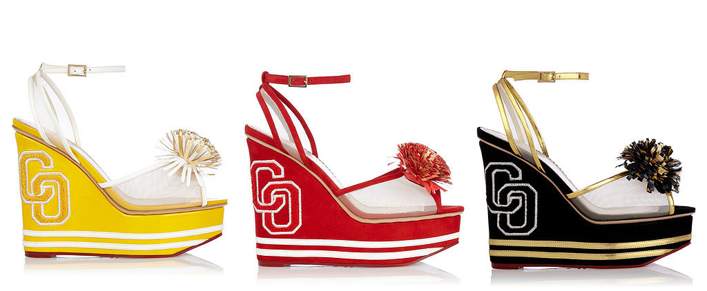 Come Super Bowl Sunday, We're Rooting For Charlotte Olympia