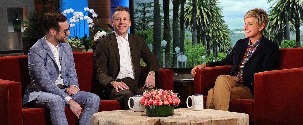 Here's the Big Secret to Macklemore's Massive Grammys Wedding