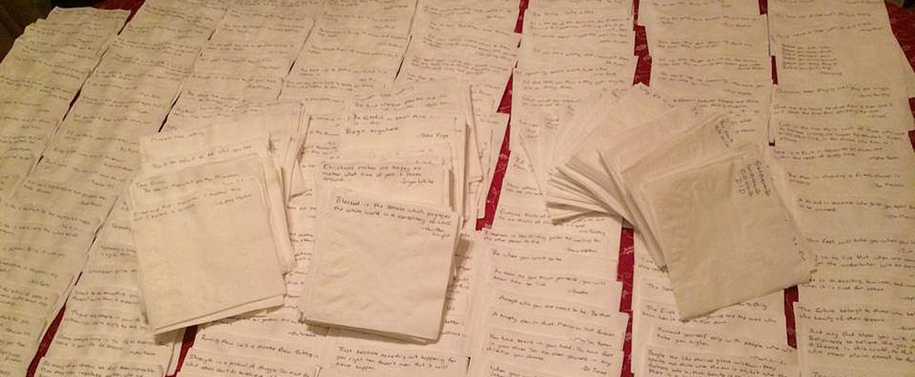 A Dying Father Leaves a Lifetime of Notes