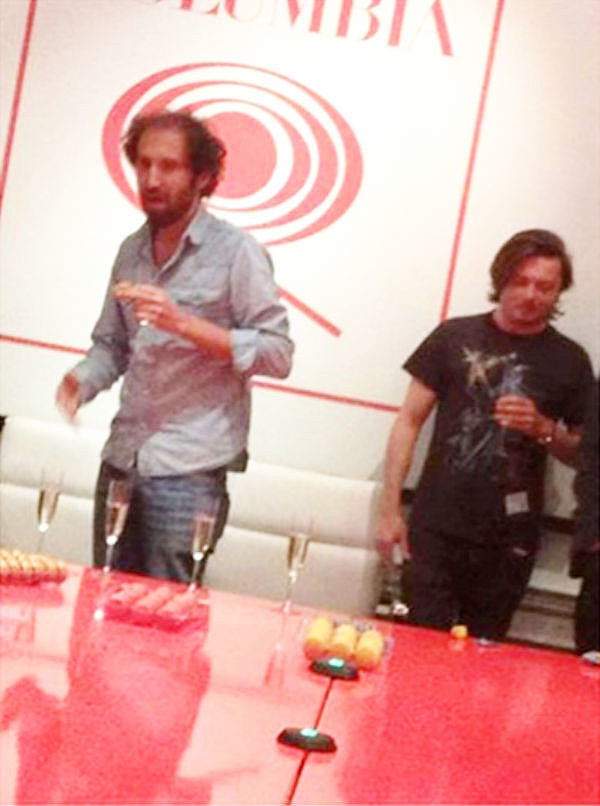 This photo — of the duo playing Champagne pong — went completely viral when The Knocks, a fellow electronic artist, posted it to their Facebook page. Even though they took it down almost immediately, it wasn't fast enough to keep it from making its way around the net. Sou