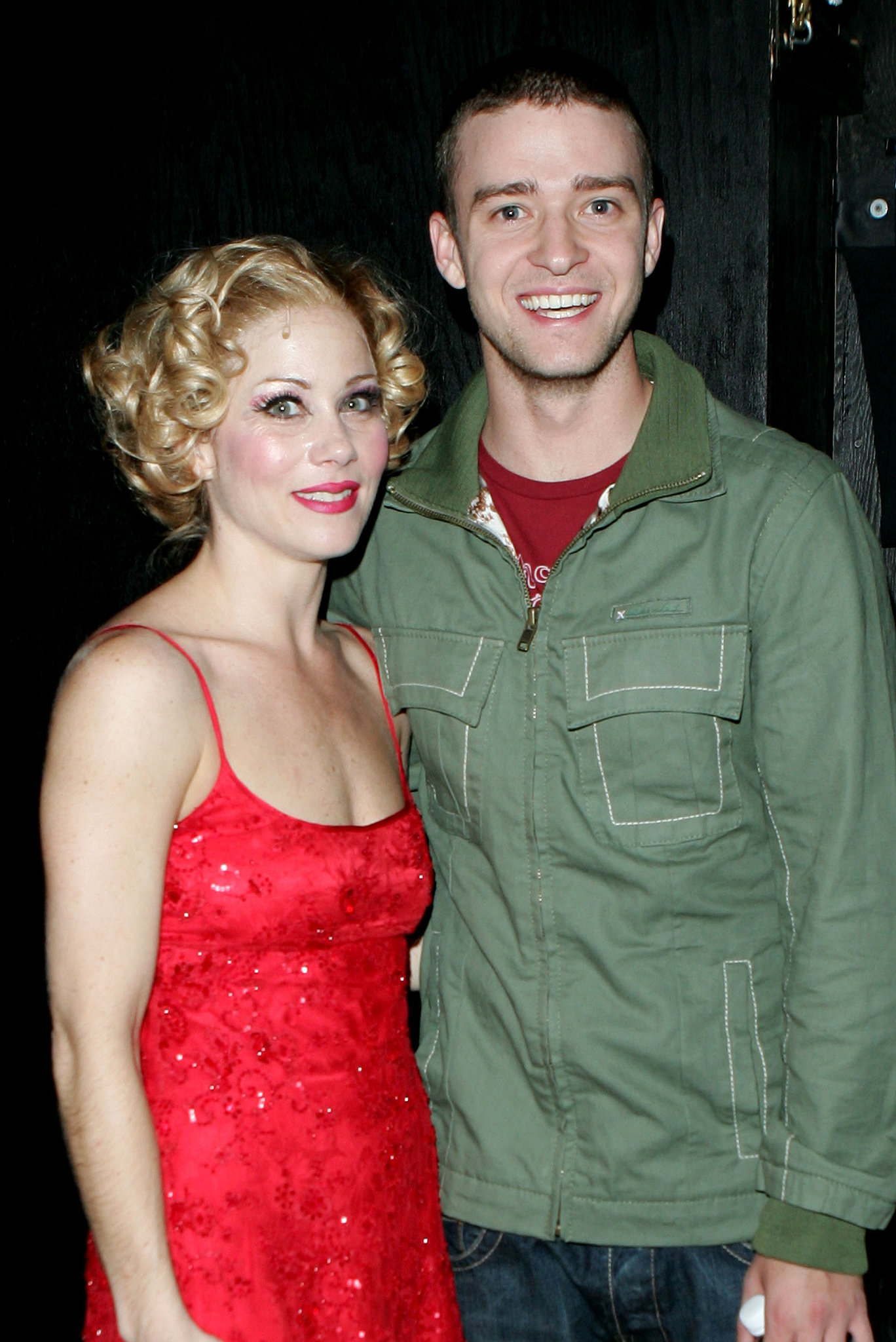 He stopped to support Christina Applegate during her November 2005 Broadway production, Sweet Charity.