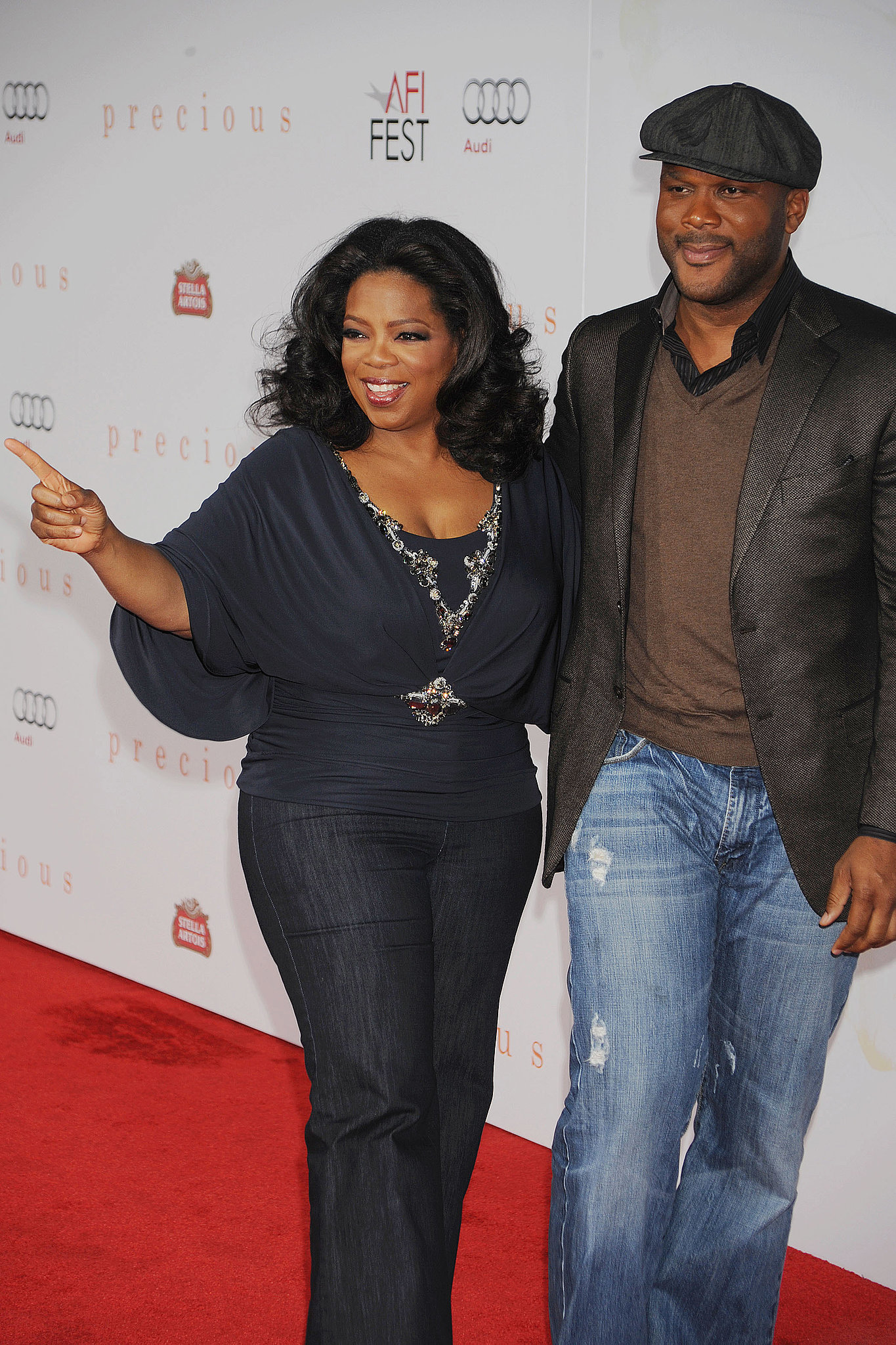 She walked the carpet for the 2009 screening of Precious.