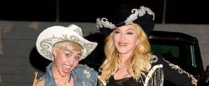 """See Miley and Madonna Team Up For a """"Pretty F*cking Cool"""" Performance"""