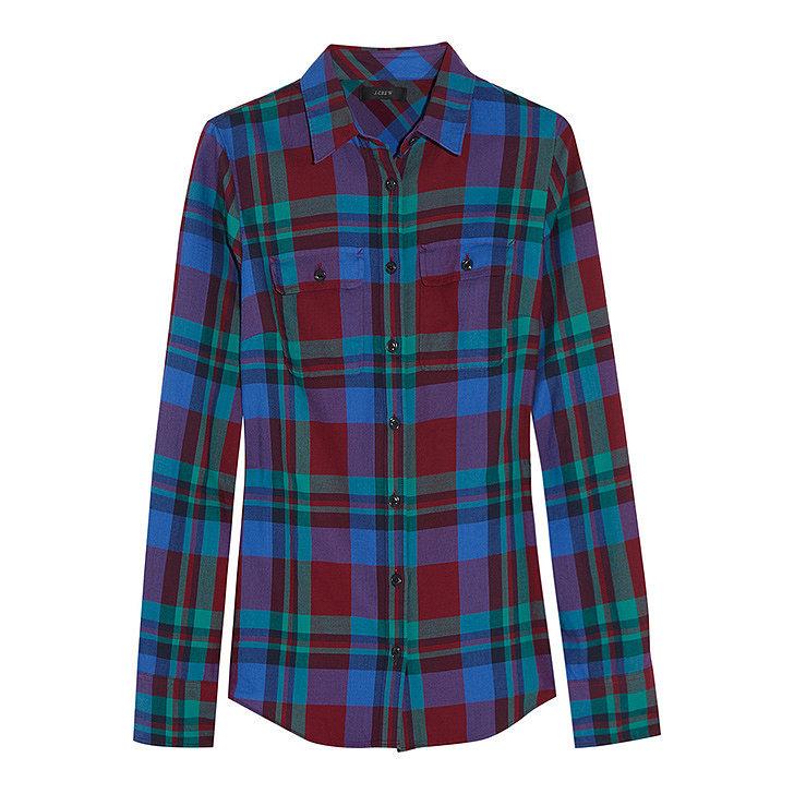 J.Crew Garnet Flame Shirt