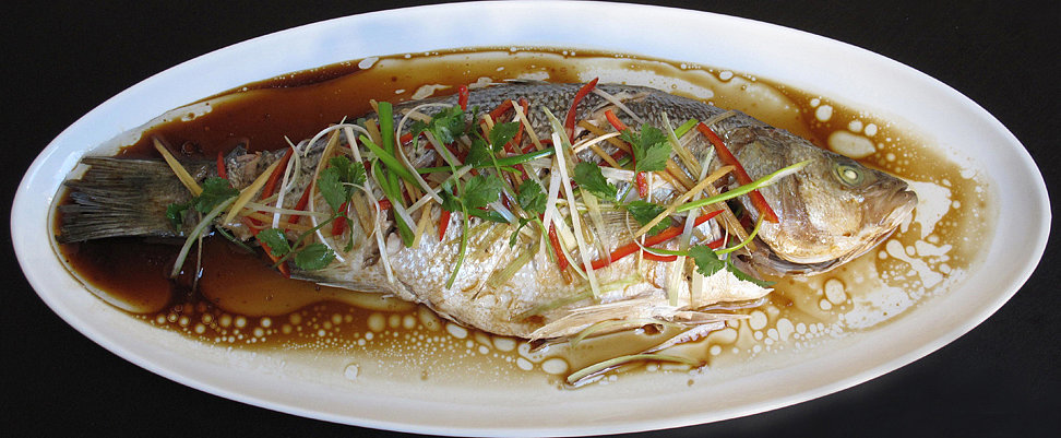 Chinese steamed fish recipe popsugar food for How to steam fish